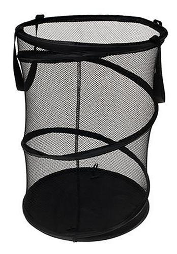 Household Collapsible Mesh Laundry | Black