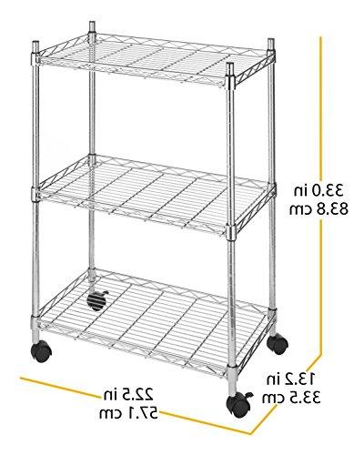 Whitmor Supreme 3 Cart - Utility Organizer