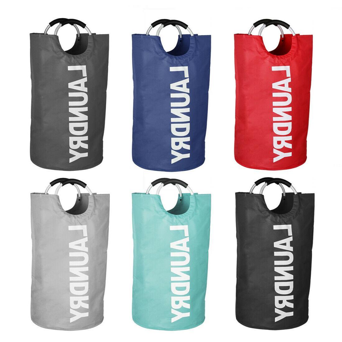 bag waterproof hamper collapsible clothes basket home