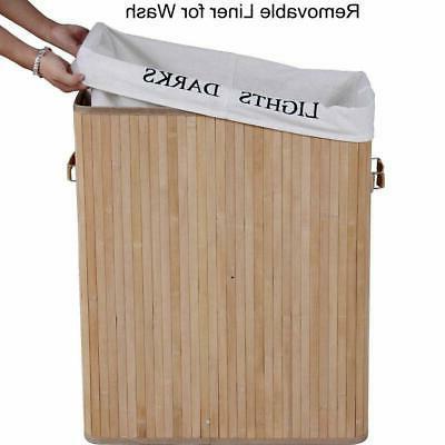 Bamboo Laundry Washing Sorter USA