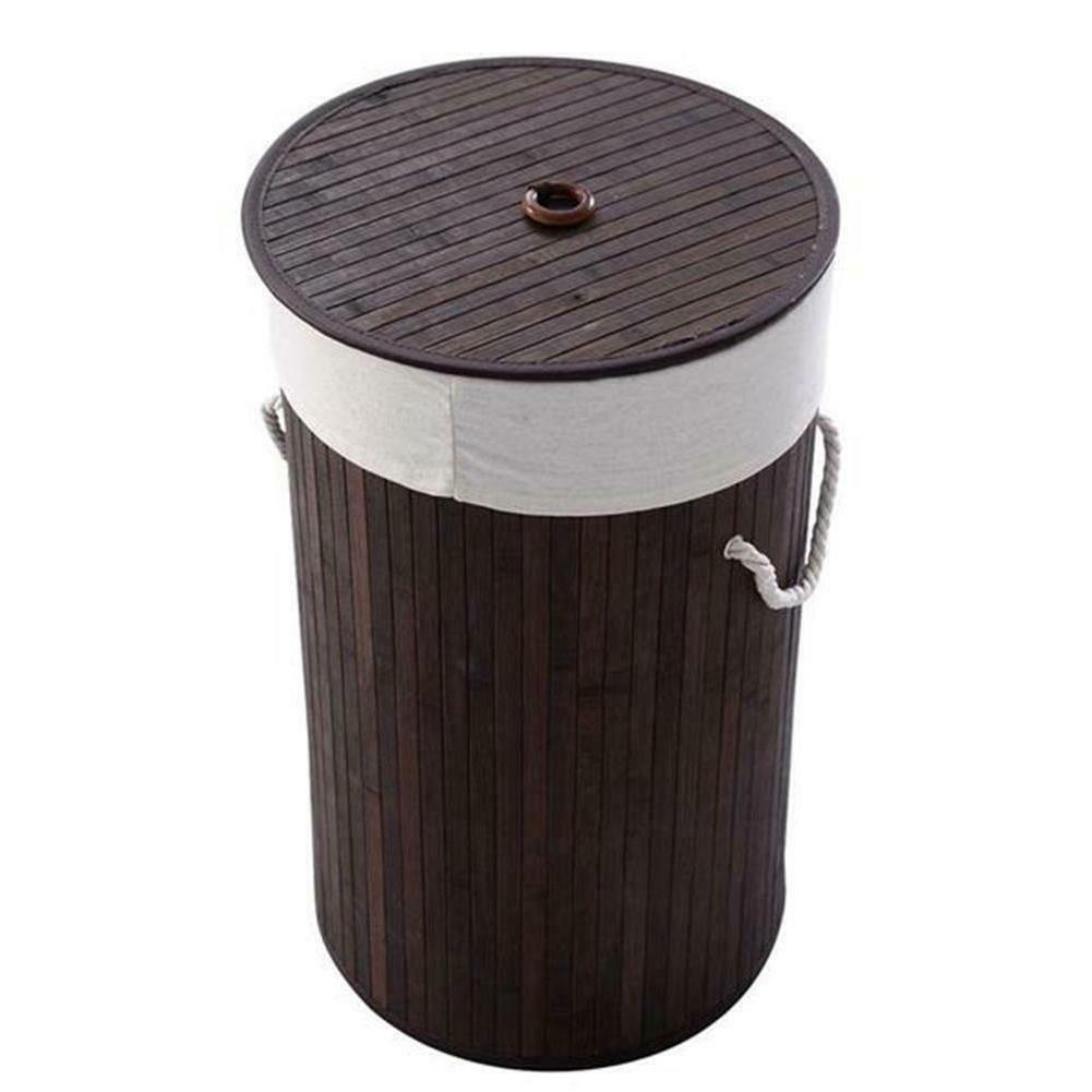 Bamboo Basket Wicker Sorter Bin Organizer