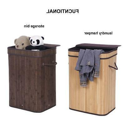 bathroom laundry hamper basket wicker clothes storage