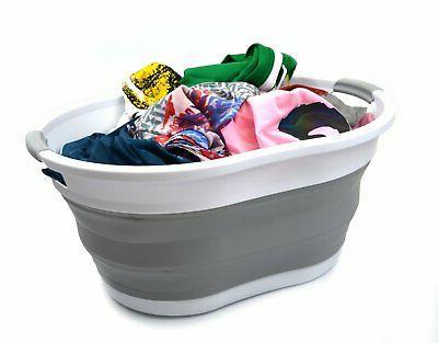 Collapsible Basket Portable Bathtub Foldable Tub