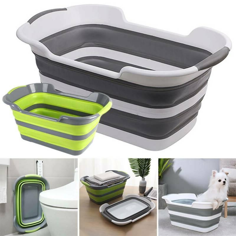 Collapsible Laundry Bag Storage Clothes Basket Organizer