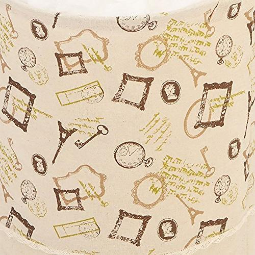 Laundry Hampers Themed Jute Laundry, Handle Drawstring Bag, 13 Inches