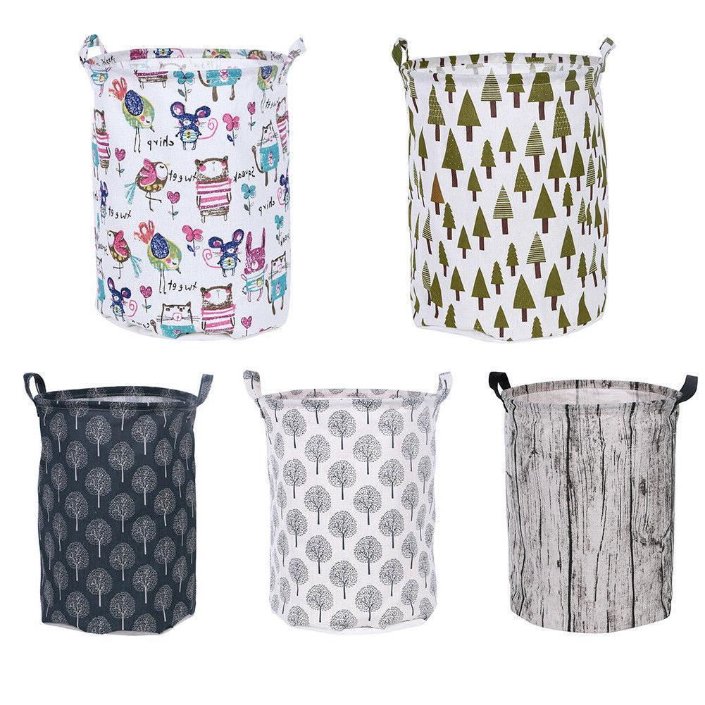 Foldable Storage Laundry Hamper Basket Laundry