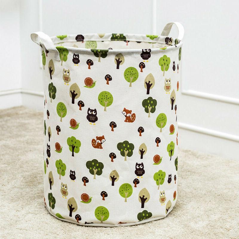 Foldable Large Hamper Basket Cotton Laundry
