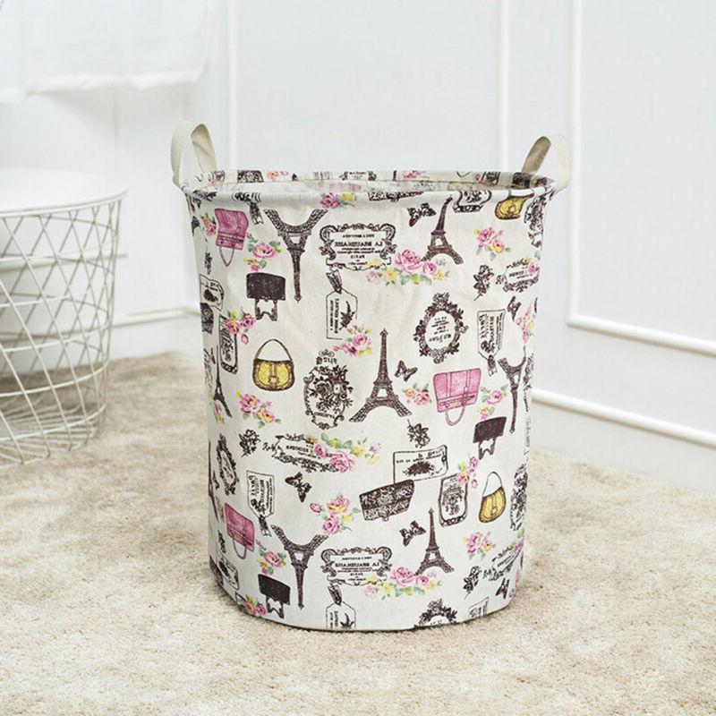 Foldable Large Hamper Clothes Basket Laundry Washing