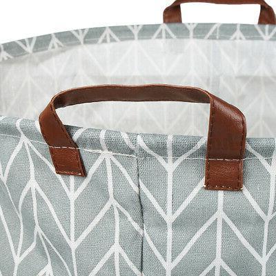 Foldable Laundry Basket Clothes Storage Bag Washing Bin