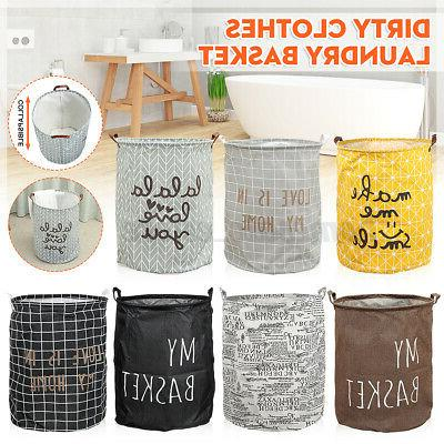 foldable laundry basket dirty clothes storage bag