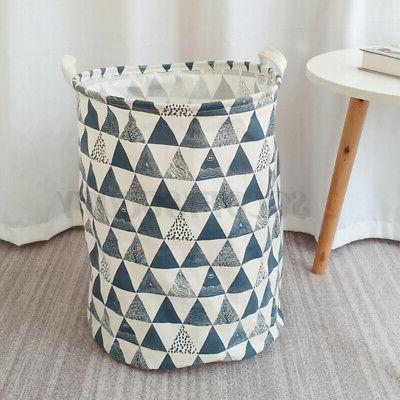 Foldable Basket Cotton Waterproof Bag Storage