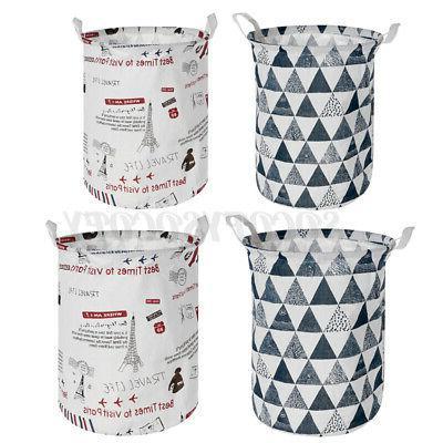 Foldable Hamper Basket Washing Bag Storage