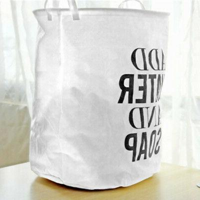 Foldable Basket Bag Washing Clothes