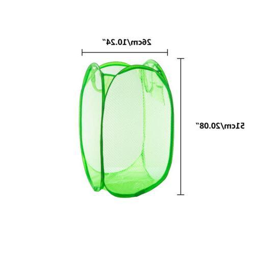 Foldable Washing Laundry Basket Bag Hamper 1PC