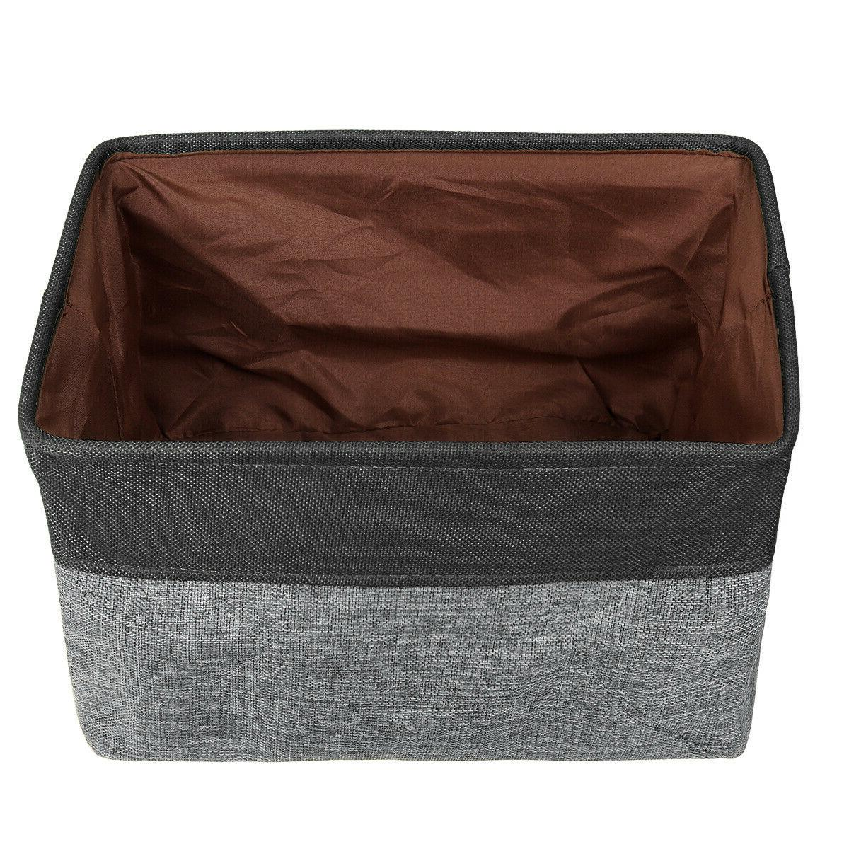 Foldable Washing Basket Hamper Bag Gery