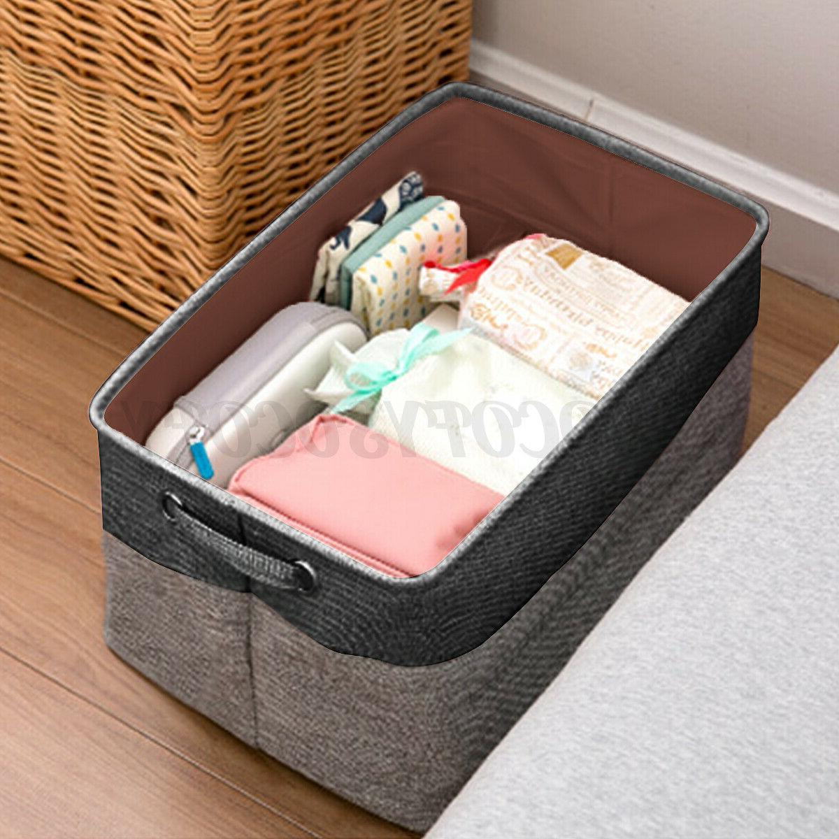 foldable washing clothes laundry basket toys hamper