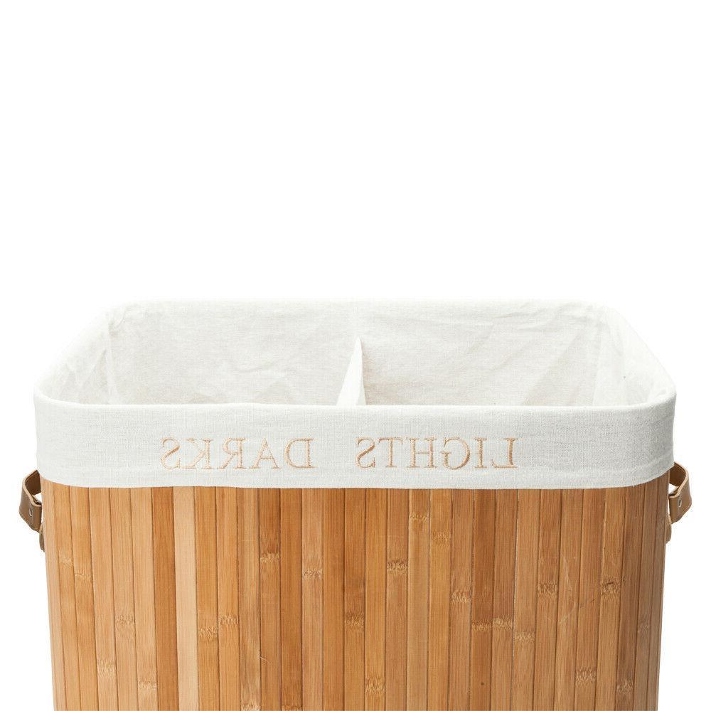 Folding Basket Storage Bin Dirty Clothes