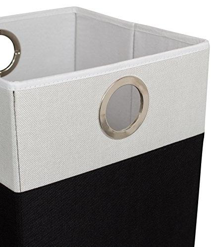 BirdRock Laundry       Collapsible   and White