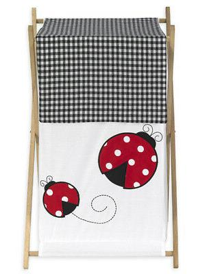 Sweet Jojo Designs Kid Baby Clothes Laundry Hamper for Red L