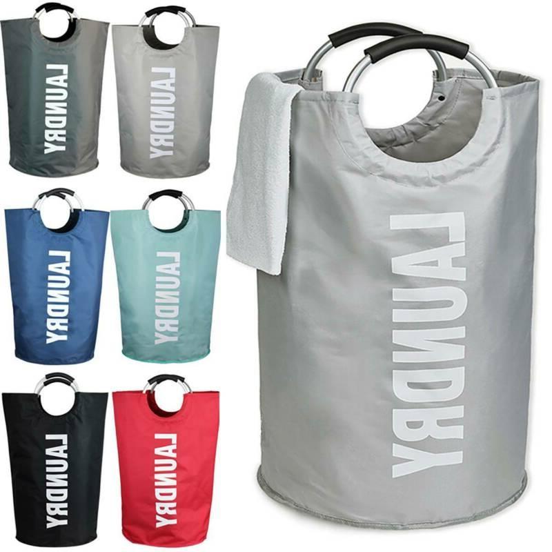 Collapsible Bag Storage Washing Basket Organizer