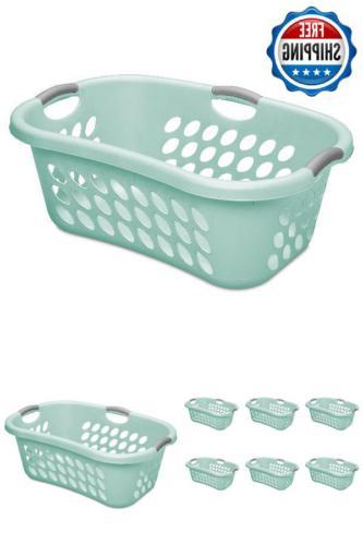 Large Hamper Laundry Basket Washing Cloth Home Storage Organ