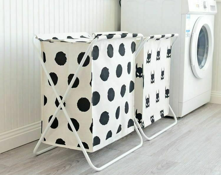 Large Laundry With Cover Laundry Hamper Bag Clothes
