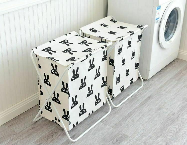 Large Cover Laundry Bag Clothes Storage