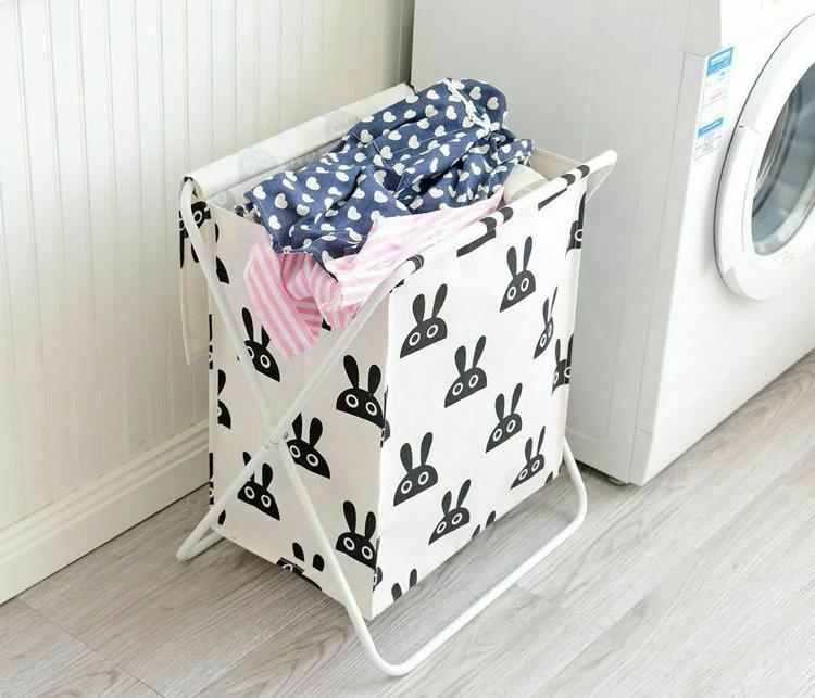 Large Laundry Clothes Baskets 1pc