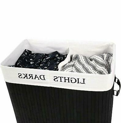 Large Natural Laundry Storage Bin Box