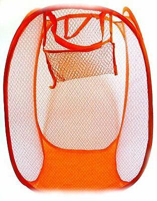 Large Pop Laundry Hamper Washing Clothes Bag Bin