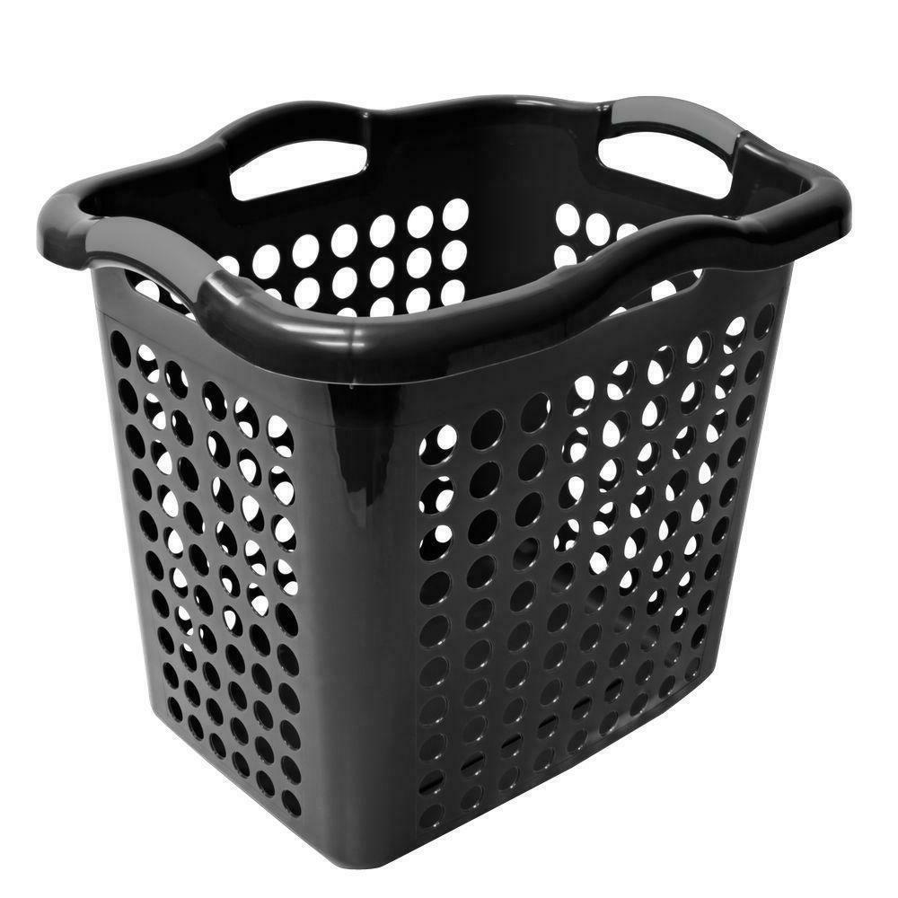 Laundry Basket Storage Plastic Home