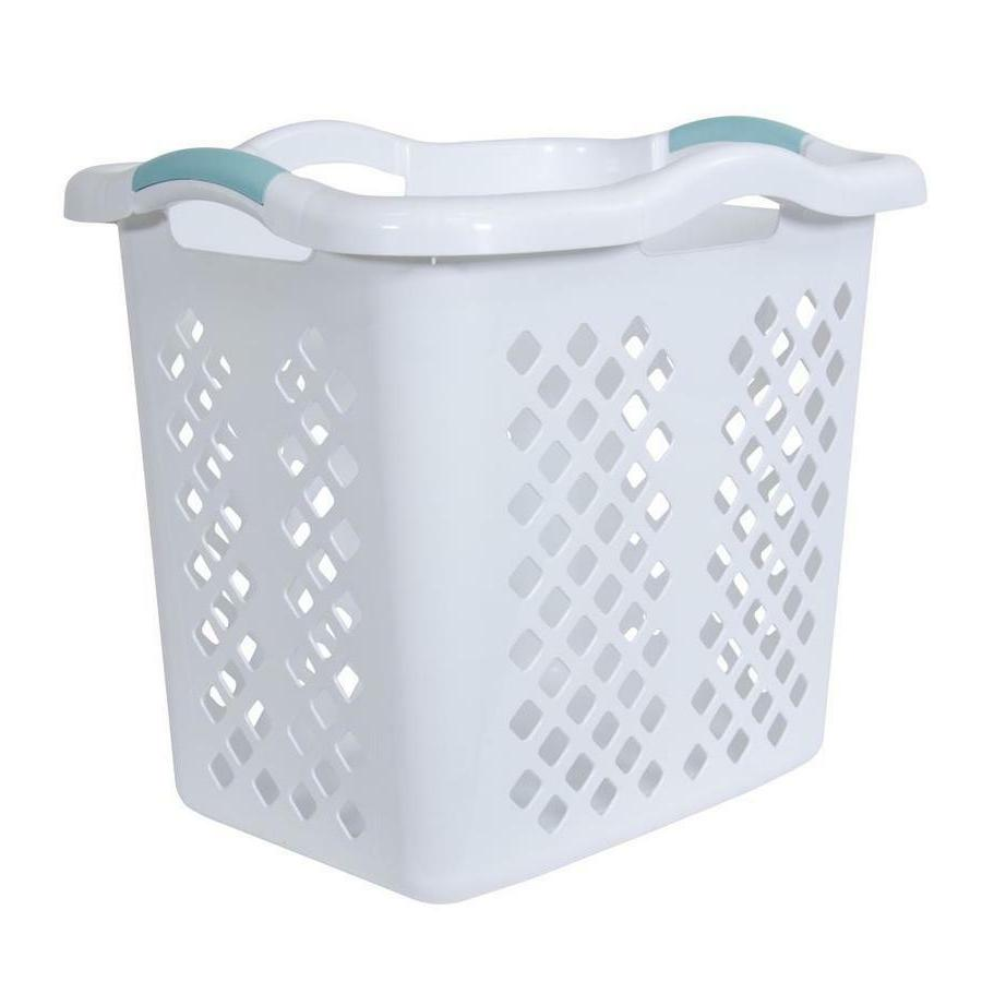Laundry Basket Hamper Durable High-Quality Comfortable Handles 2-Bushel