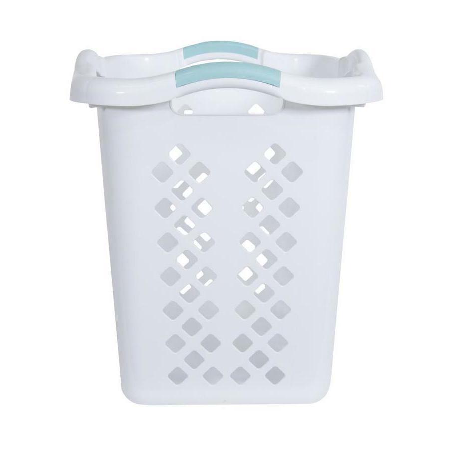 Laundry Basket Durable High-Quality Resin Comfortable 2-Bushel