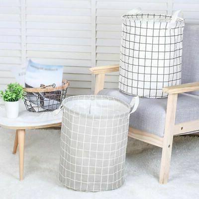 Foldable Hamper Clothes Basket Waterproof Bag Storage