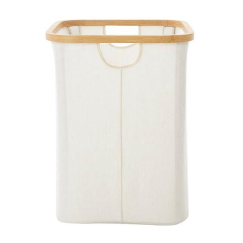Laundry Basket Laundry Home Bin Bathroom Clothing Organizer