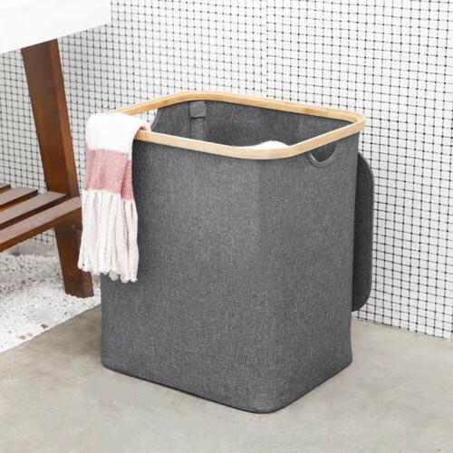 Laundry Basket Hamper Laundry Home Storage Bathroom Organizer