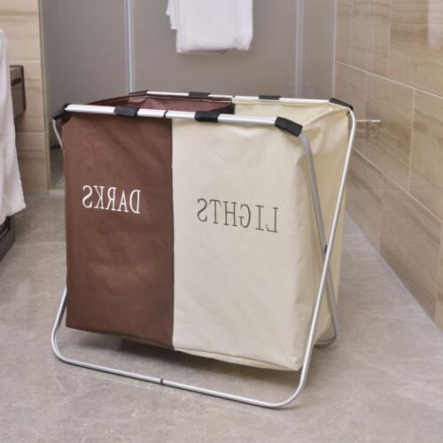 US Hamper Clothes Storage Bin Organizer Washing New