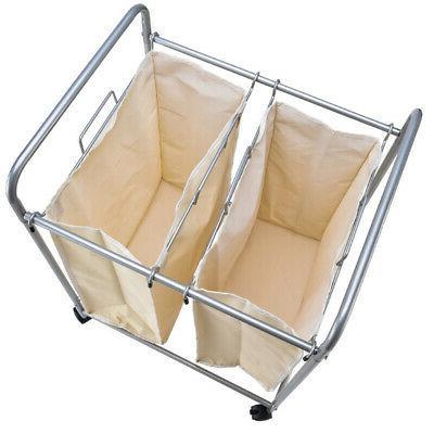 Laundry 2 Basket Bag Sort