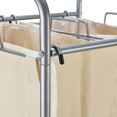 Laundry Basket Roller Storage
