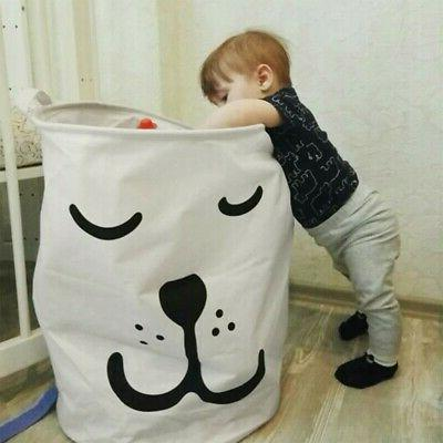 laundry hamper clothes basket cotton waterproof washing