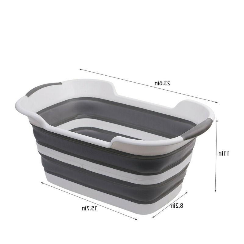 SAMMART Basket - Foldable Up Storage