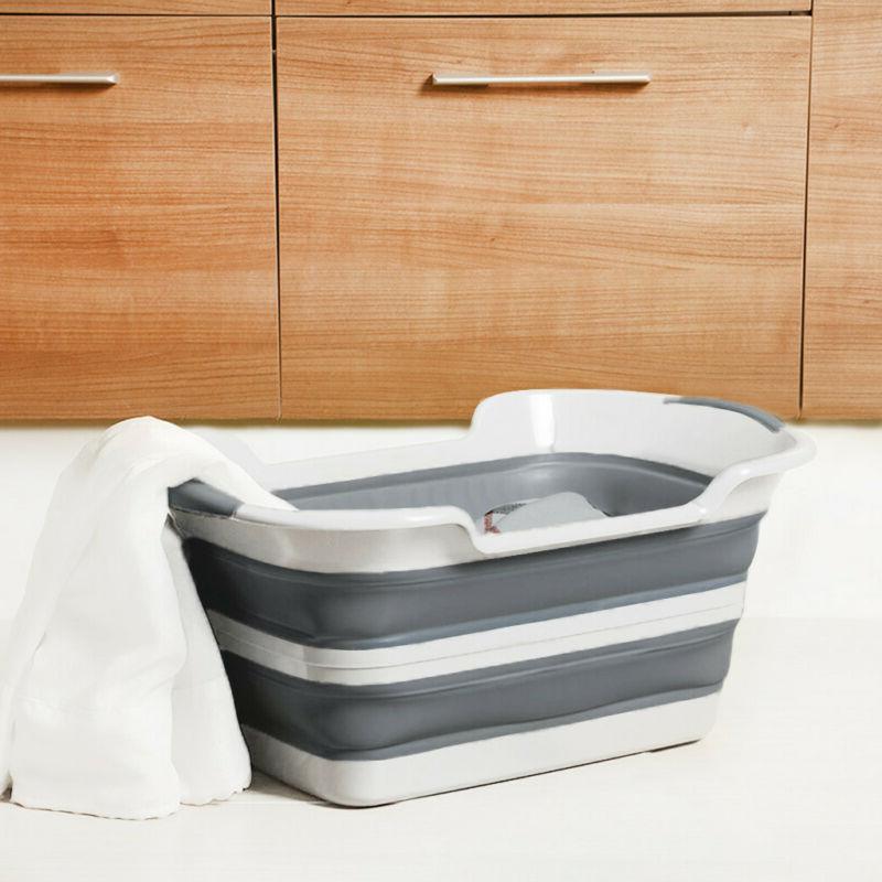 SAMMART Collapsible Plastic Basket - Up US