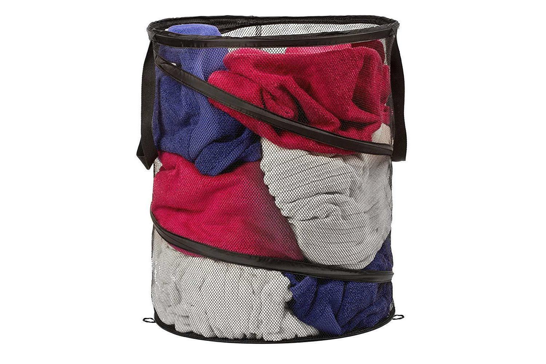 Laundry Mesh Basket Portable Folding Mesh