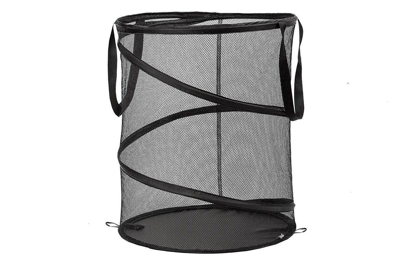 laundry hamper mesh basket pop up durable