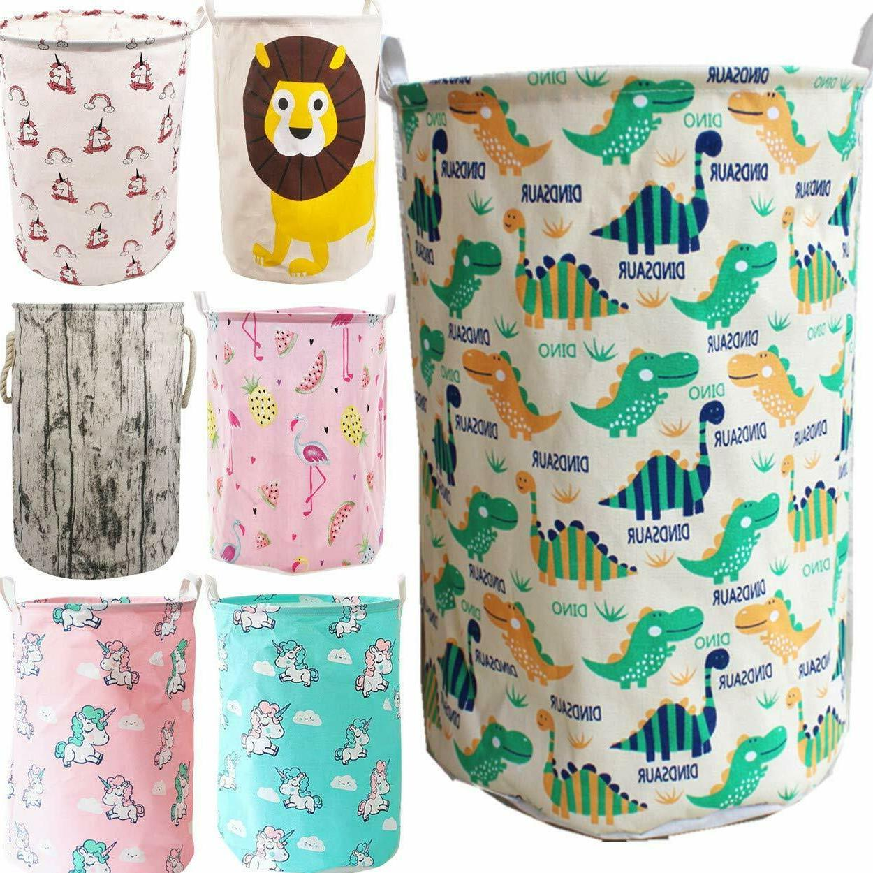 Laundry Hampers Bin Clothes Toys Basket