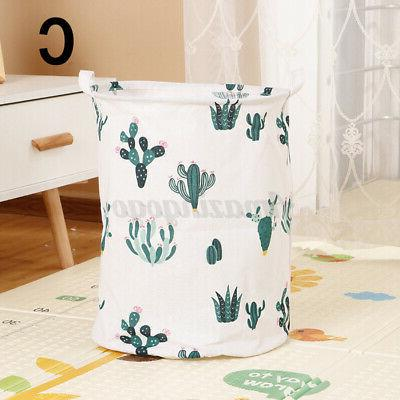 Laundry Linen Hamper Home Storage Bin Clothing Organizer USA