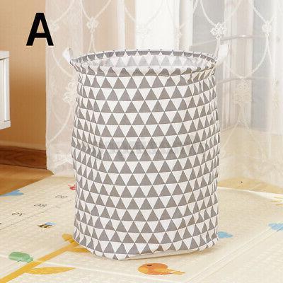 Laundry Linen Home Storage Bin Bathroom Clothing Organizer