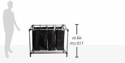 Laundry Basket Bar Cart Clothes