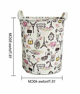 Merdes Waterproof Laundry Hamper, Dirty Laundry Basket,