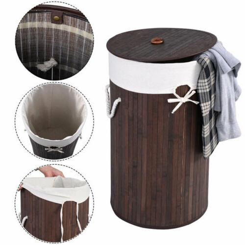 Extra Large Bathroom Laundry Hamper Basket Wicker Clothes St